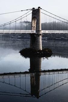 Free Lyon Footbridge Royalty Free Stock Images - 16639359