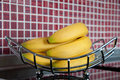 Free Fresh Bananas On Metal Rack Stock Photos - 16641343