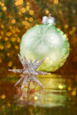 Free Glittering 3D Christmas Star Stock Photo - 16642070