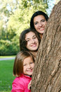 Free Family In Autumn Park Royalty Free Stock Images - 16649919