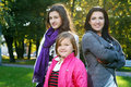 Free Family In Autumn Park Stock Photography - 16649942