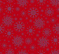 Free Snowflakes Seamless Stock Images - 16640904