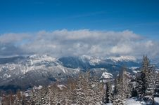 Free Ski Resort Schladming . Austria Stock Photography - 16640962