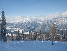 Free Ski Resort Schladming . Austria Royalty Free Stock Image - 16641146