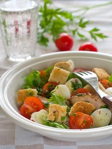 Free Salad Royalty Free Stock Image - 16641536