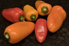 Free Baby Peppers Stock Photo - 16641790