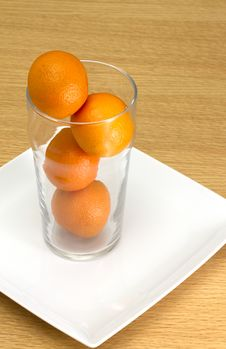 Free Oranges In Glass Royalty Free Stock Images - 16641859
