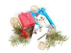 Free Christmas Gifts Stock Image - 16642231