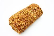 Free Fresh Swiss Roll With Poppy On White Stock Photo - 16643370