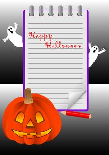 Free Halloween. Vector. Royalty Free Stock Photos - 16644148