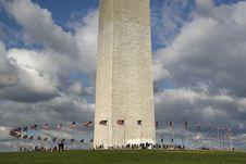 Free Washington Monument Royalty Free Stock Image - 16644276