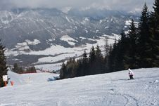 Free Ski Resort Schladming . Austria Royalty Free Stock Photography - 16645107