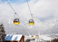 Free Ski Resort  Schladming . Austria Royalty Free Stock Images - 16645209