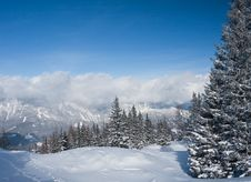 Free Mountains Under Snow. Schladming . Austria Royalty Free Stock Images - 16645399
