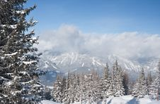 Free Mountains Under Snow. Schladming . Austria Royalty Free Stock Photography - 16645447