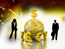 Free Business Concept Royalty Free Stock Image - 16645606