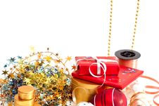 Free Christmas Decorations. Stock Images - 16646044