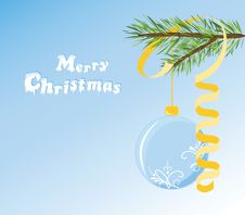 Free Christmas Postcard Royalty Free Stock Images - 16647379