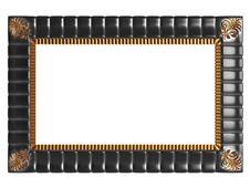 Free Decorative Vintage Empty Frame Isolated Stock Image - 16647381