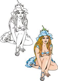 Free Fantasy Girls . Stock Photography - 16647402