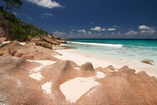 Free Seychelles Beach Royalty Free Stock Images - 16648959