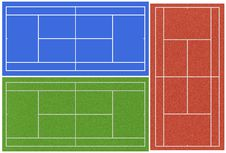 Free Tennis Courts Royalty Free Stock Images - 16649009