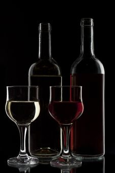 Free Red And White Wine Stock Images - 16649334