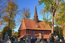 Free Old Wooden Church Royalty Free Stock Photography - 16649347