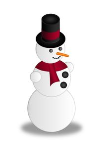 Free Snowman Stock Image - 16649621