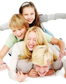 Free Group Of Young And Beautiful Teens Royalty Free Stock Images - 16649989