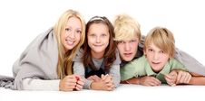 Free Group Of Young And Beautiful Teens Royalty Free Stock Photo - 16649995