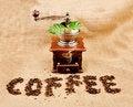 Free Vintage Coffee Grinder Royalty Free Stock Image - 16652046