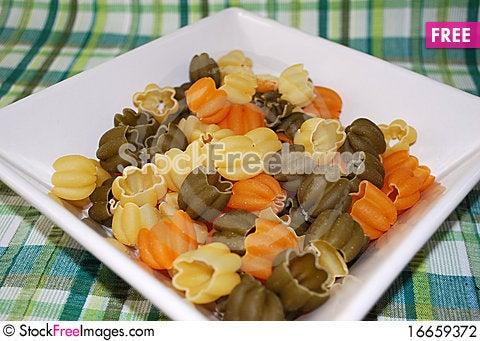 Free Dry Pasta Stock Photography - 16659372