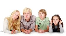 Free Group Of Young And Beautiful Teens Royalty Free Stock Photography - 16650047