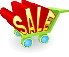 Free Sale Icon Royalty Free Stock Photo - 16650215