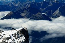 Free Cross Of Zugspitze Stock Images - 16650654