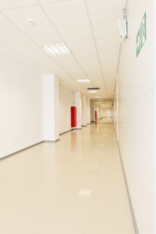 Free Corridor Royalty Free Stock Photo - 16650925