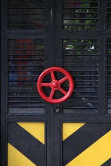 Free Metal Door. Royalty Free Stock Photo - 16650965