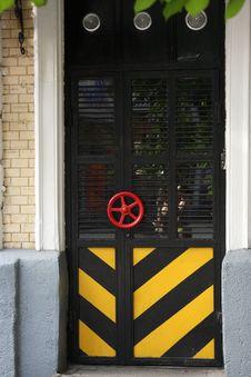 Free Metal Door. Stock Image - 16650981