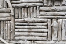 Free Gray Log Background Royalty Free Stock Photo - 16650985