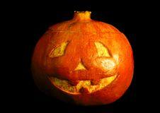 Free Halloween Face On Black Royalty Free Stock Photo - 16651125