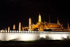 Free The Grand Palace, Bangkok Stock Photography - 16651242