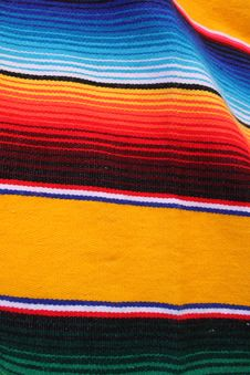 Free Mexican Poncho Royalty Free Stock Photography - 16651337