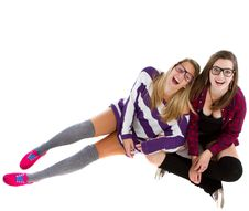 Free Young Trendy Teenagers Royalty Free Stock Photo - 16651855