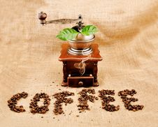 Free Vintage Coffee Grinder Royalty Free Stock Image - 16652046