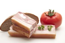 Free Cooked Pig Meat With Tomato Royalty Free Stock Images - 16652269
