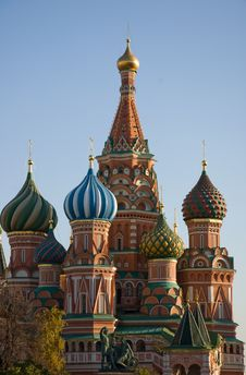 Free St. Basil S Cathedral Royalty Free Stock Photography - 16652887