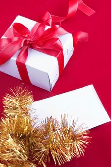 Free Red Giftbox Stock Photo - 16653080