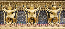 Free Guardian At Grand Palace Thailand, Royalty Free Stock Image - 16653496