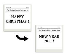 Free Polaroid Of Festivity Christmas - 2011 Stock Photos - 16653783